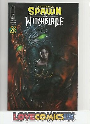 Medieval Spawn Witchblade #1 Lucio Parrillo Variant Image Comics