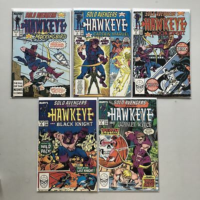 Lot of 9 Solo Avengers (1987) #1-6 9 10 19 FN-VF Very Fine
