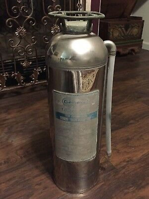1967 General Stainless Steel 2-1/2 Gallon Soda Acid Fire Extinguisher SS-15B