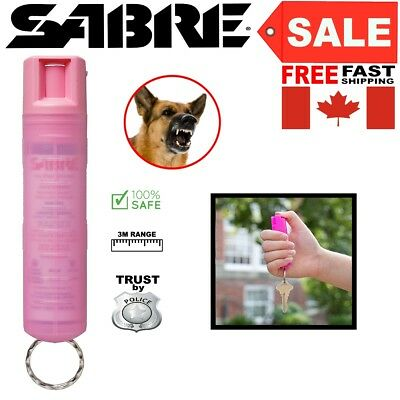 Safe Dog Red Pepper Spray Max Strength Pink Case for Women Self Defense Security