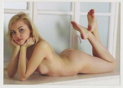 Postcard Pinup Risque Nude Stunning Girl Extremely Rare LAST ONE Post Card 8298