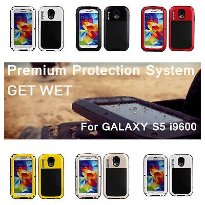Heavy Duty Shockproof Bumper Aluminum Metal Cover Case For Samsung Galaxy 5S