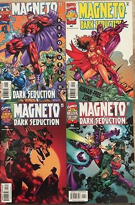 Magneto:  Dark Seduction #1-4 (Marvel mini-series, 2000)