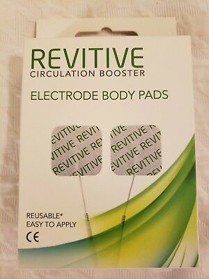 NEW  Revitive Circulation Booster Electrode Body Pads (4 pads)