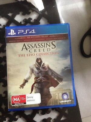 Assassin's Creed The Ezio Collection PS4 Playstation 4 Brand New In Stock