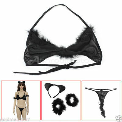 Completo Sexy Travestimento Cat Woman