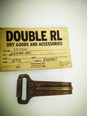 Genuine Ralph Lauren Double RL 100% Brass Weathered Stained Rusty Key Holder