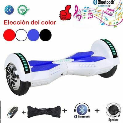 """6.5"""" Hoverboard Gyropode Self Balancing Scooter électrique Bluetooth +LED CE FCC"""
