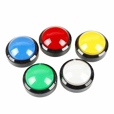 5pcs Arcade 60MM illuminated LED Push Button with micro-switch for JAMMA MAME