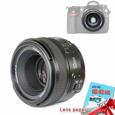 Yongnuo YN50mm F1.8 Auto Focus Lens Large Aperture MF AF For Nikon Camera