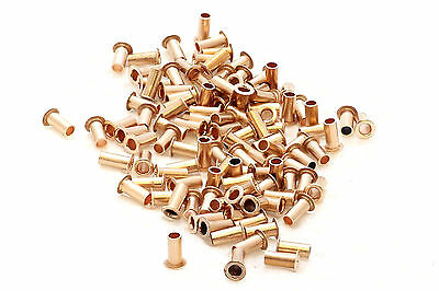 200x best quality pcb copper via vias  through hole rivets, 5 sizes , 40pcs each