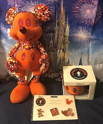 Disney Mickey Mouse Monthly Memories July Full Set Plush Pin Mug New SOLD OUT