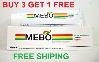 MEBO BURN FAST PAIN RELIEF HEALING CREAM  75 grams كريم ميبو الاصلي 75 غرام