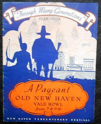 1938 New Haven Tercentenary Festival - A Yale Bowl Pageant, Connecticutt