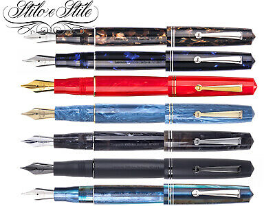 Leonardo Officina Italiana Momento Zero Resin | Penna Stilografica Fountain Pen
