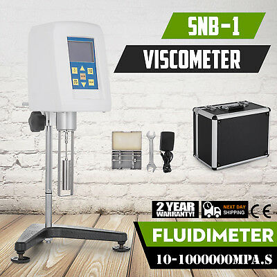 Rotary Viscometer Fluidimeter Viscosity Meter display Stable acquisition correct