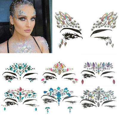 Hand Craft Colorful Crystal Diamond Face Stickers Tape For Album Photo festival