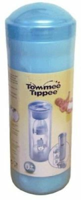 Tommee Tippee 2 IN 1 TRAVEL Thermal & Milk Powder Dispenser  Keeps Water Warm BL