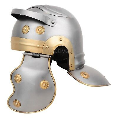 Ancient Armor Armour Medieval Roman Centurion Trooper Helmet leather liner with