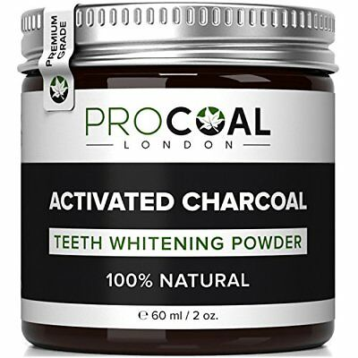 Activated Charcoal Natural Vegan Polishing Teeth Whitening Powder Stain Remover