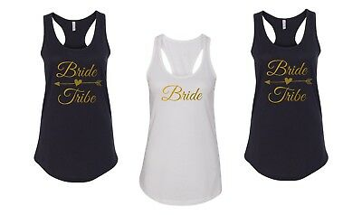 2bc109295 Tank Top Bride Tribe Shirt Bride Squad Tees Bridal Party Bachelorette Gift