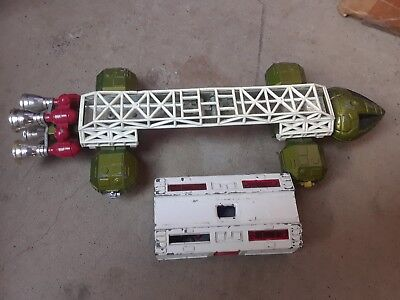 Vintage 1974 Dinky Toys Meccano Ltd. Space 1999 Eagle Diecast Spaceship England