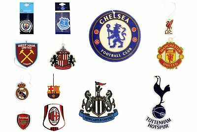 Official Football Clubs Crest Air Freshener