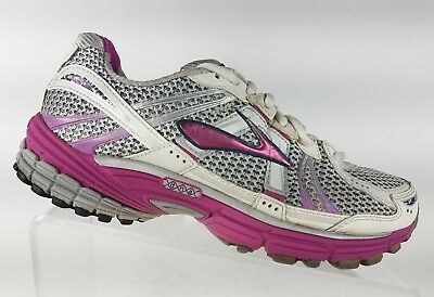055357eea63 Brooks Adrenaline GTS 12 Women s Running Shoes Size 8.5 Silver and Purple