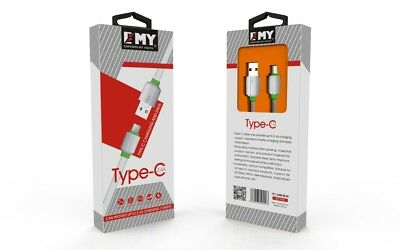 EMY Type-C Charging And Data 2.4 A MY-449 Cable Length 3.28 Feet FAST CHARGING