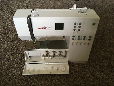 BERNINA ACTIVA 40 Sewing Machine Fully Serviced 4040 PicClick Amazing Bernina Activa 130 Sewing Machine