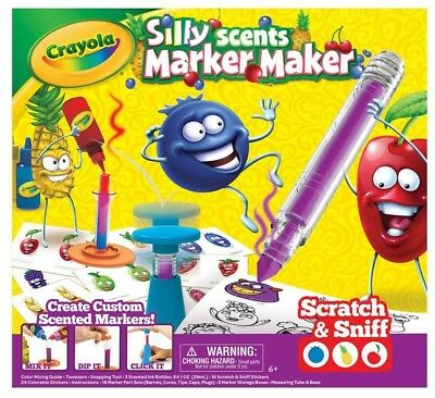 NEW Crayola Silly Scents Marker Maker from Mr Toys