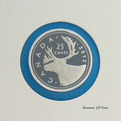 2012 Canada 5 Cents 99.99/% Fine Silver Proof Coin From Set