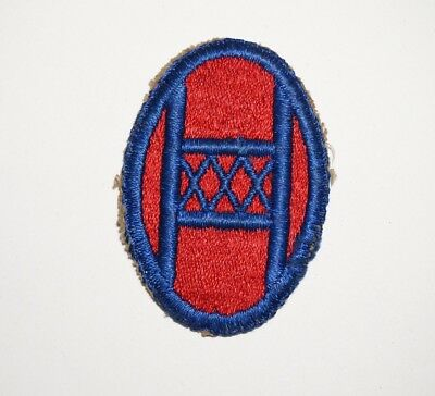 30th Infantry Division Patch WWII US Army P7632
