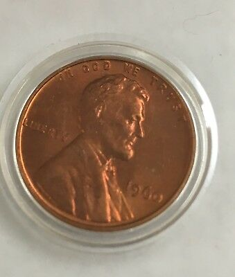 """1960-P Lincoln Cent  'Small Date""""  Penny Uncirculated U.S. Coin"""