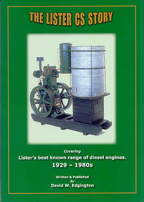 The Lister CS Story covering Lister's best known range of diesel engines