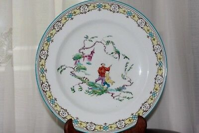 Antique Rare 19Th Century Wedgwood Chinoiserie  Plate