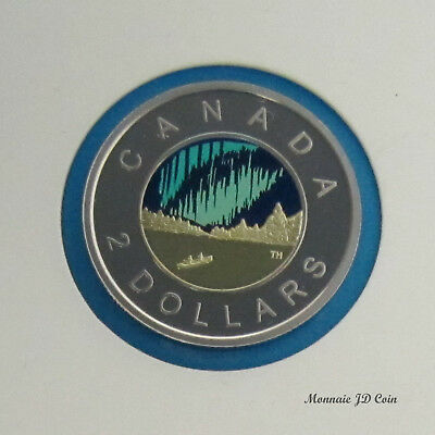 Canada 2017 Toonie Coloured Dance Proof (Non Silver)  Coin From Set