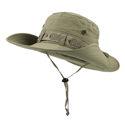 10b14e64d4b Outdoor Hat Summer Fisherman Hat Visor UV Sun Protection Cap Hiking Boonie  Hat