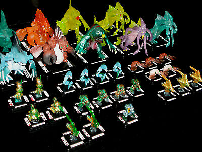 MONSTERPOCALYPSE TRITONS 32-Pc. ARMY/FACTION BUNDLE - 4 MONSTERS + 1 MEGA FORM