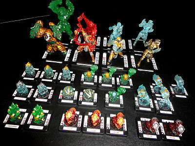 MONSTERPOCALYPSE ELEMENTAL CHAMPIONS 30-Pc. ARMY/FACTION BUNDLE w/ALL 4 MONSTERS