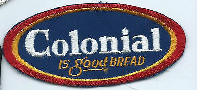Colonial is good bread driver/employee patch 2-1/8 X 4-7/8 #1570