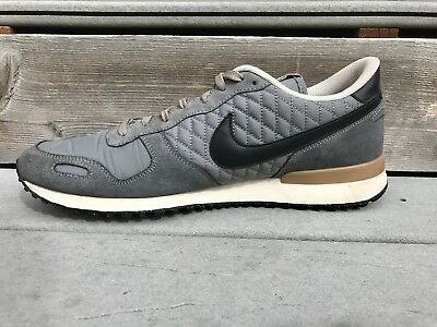 purchase cheap 2056c 9a267 Nike Air Vortex Vintage Quilted Gray Red 12 429773-006 Suede Running Shoe