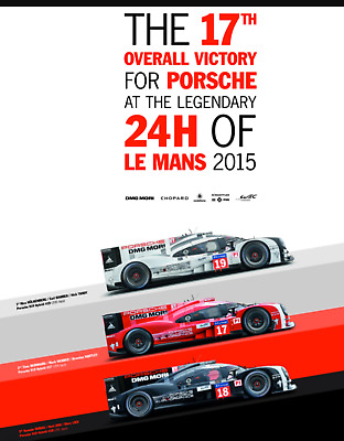The 17th Overall Victory for Porsche at the Legendary 24H of Le Mans 2015