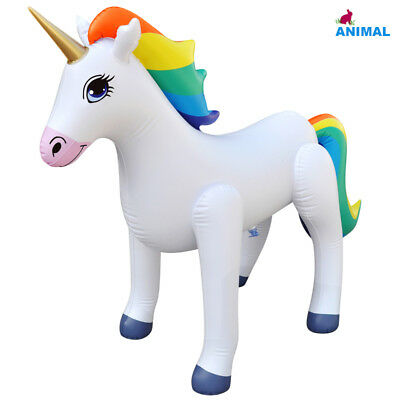 Inflatable Unicorn Party cute Rainbow birthday happy gifts pool Teacher Gifts