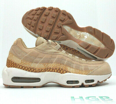 a432e1dc22c001 Nike Air Max 95 Premium SE Mens Vachetta Tan Safari 924478 201 Shoes NIB