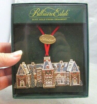 NEW Biltmore Estate Xmas ornament. Gingerbread House