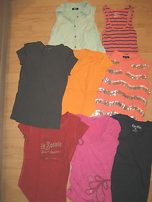 huge lot womens short sleeve shirts tops BDG XS Lucky american Eagle PH8 trendy