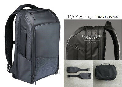 NOMATIC Travel Pack Water Resistant (from Kickstarter) 20L-30L for 1-3 day trips