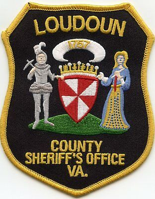 LOUDOUN COUNTY VIRGINIA VA colorful SHERIFF POLICE PATCH