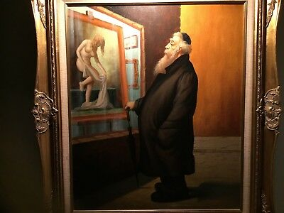 """""""in Excellent Condition"""" Original Oil Painting On Canvas By :a. Straski Signed"""